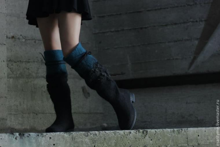 климчук, валяная обувь