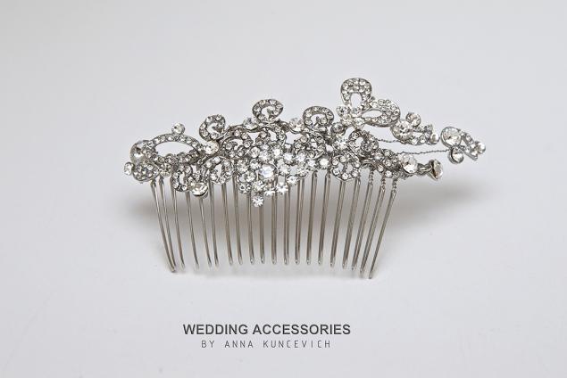 новая коллекция, заколка для волос, украшение для невесты