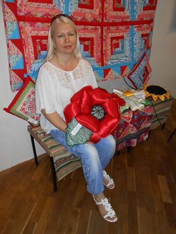 выставка 2014, подушки