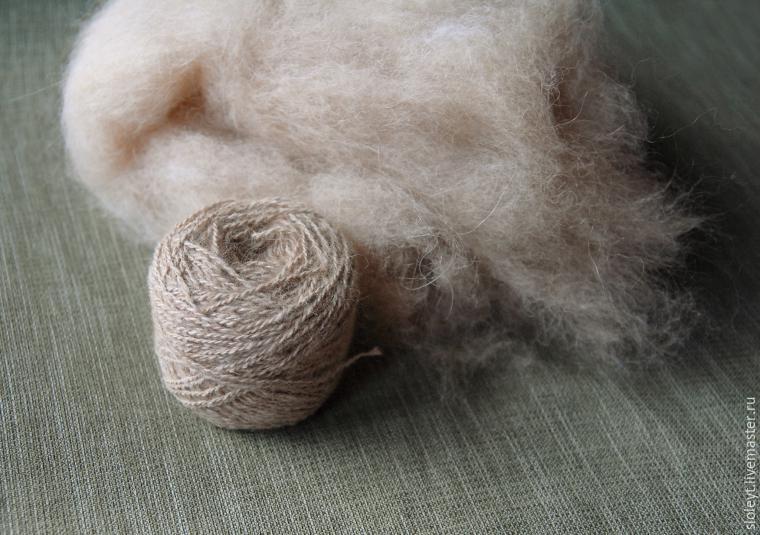 Как сделать пряжу из шерсти
