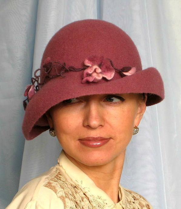 мк, шляпа на шаблоне берета