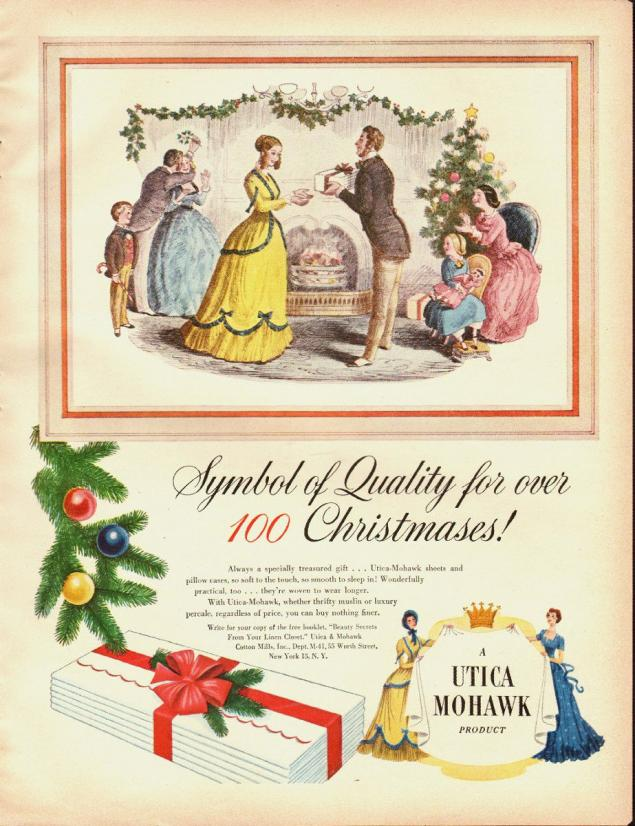 Новогодняя реклама Vintage/1951 -1956 включительно, фото № 6