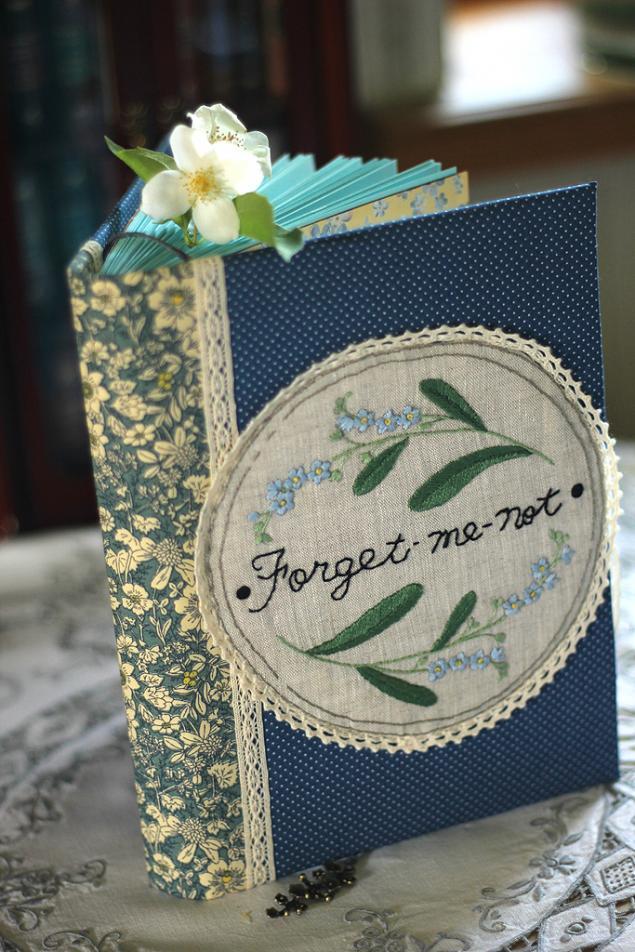 подарок девушке, ежедневник ручной работы