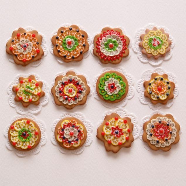 фимо, бижутерия мк, сладости из пластики