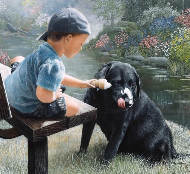 картины с собаками