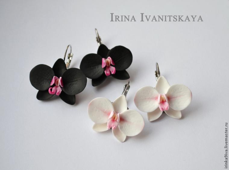Орхидеи из полимерной глины мастер класс для начинающих