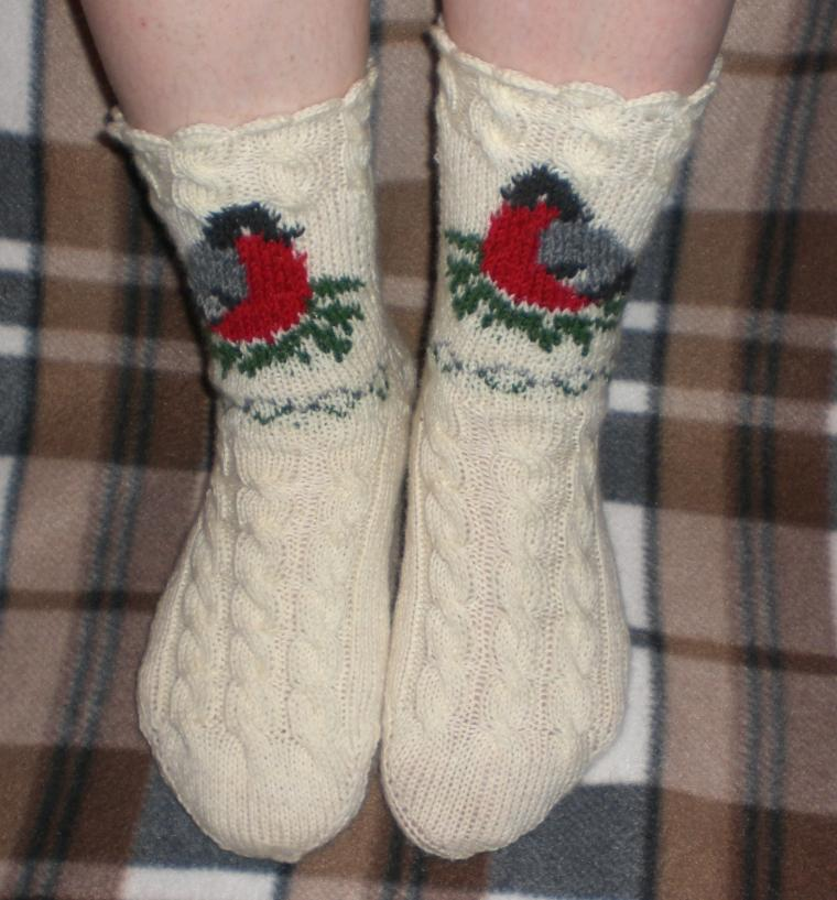 носки на зиму