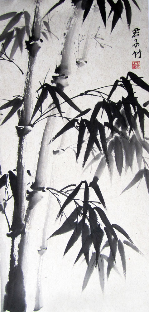 елена касьяненко, гохуа, бамбук, курсы живописи
