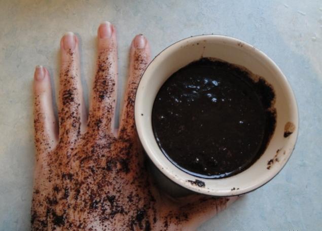кофейная гуща, коричневый