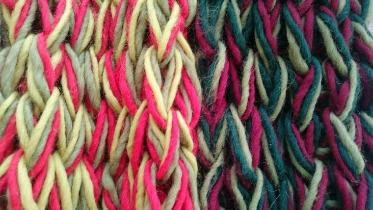 шарф, антикафе, вязаный шарф, 23 февраля