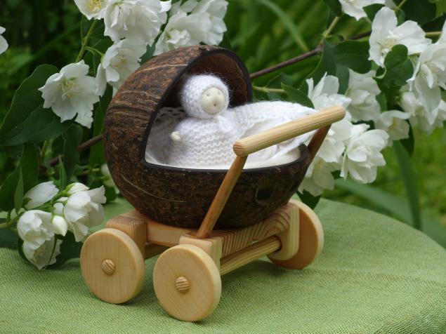 детская игрушка, подарок для девочки, коляска с матрасом