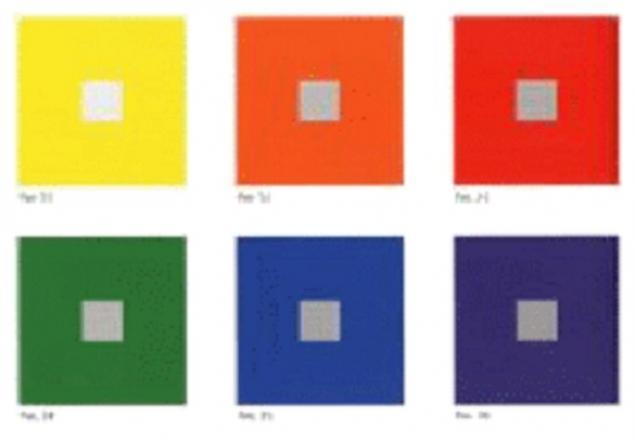 искусство цвета, белый, цветовой круг