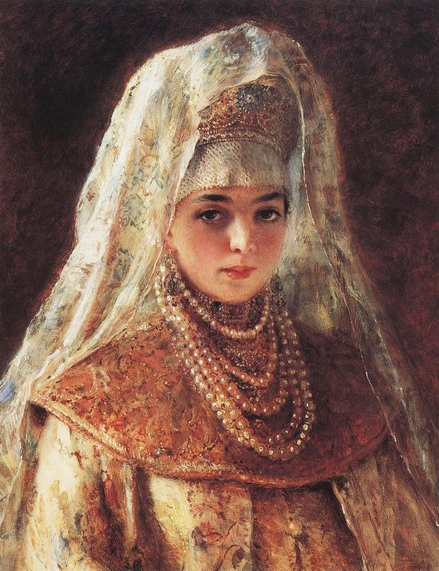Русская девушка в работах художников работа в норильске девушкам