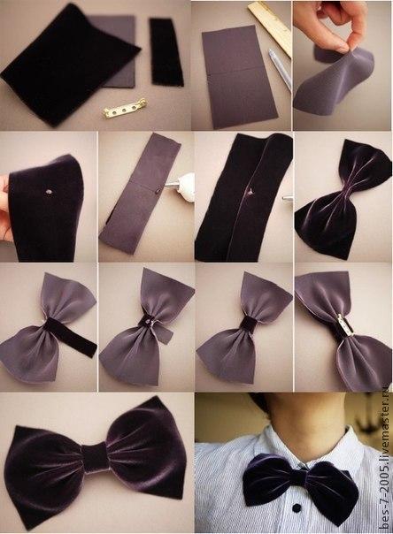 Мужская галстук-бабочка своими руками