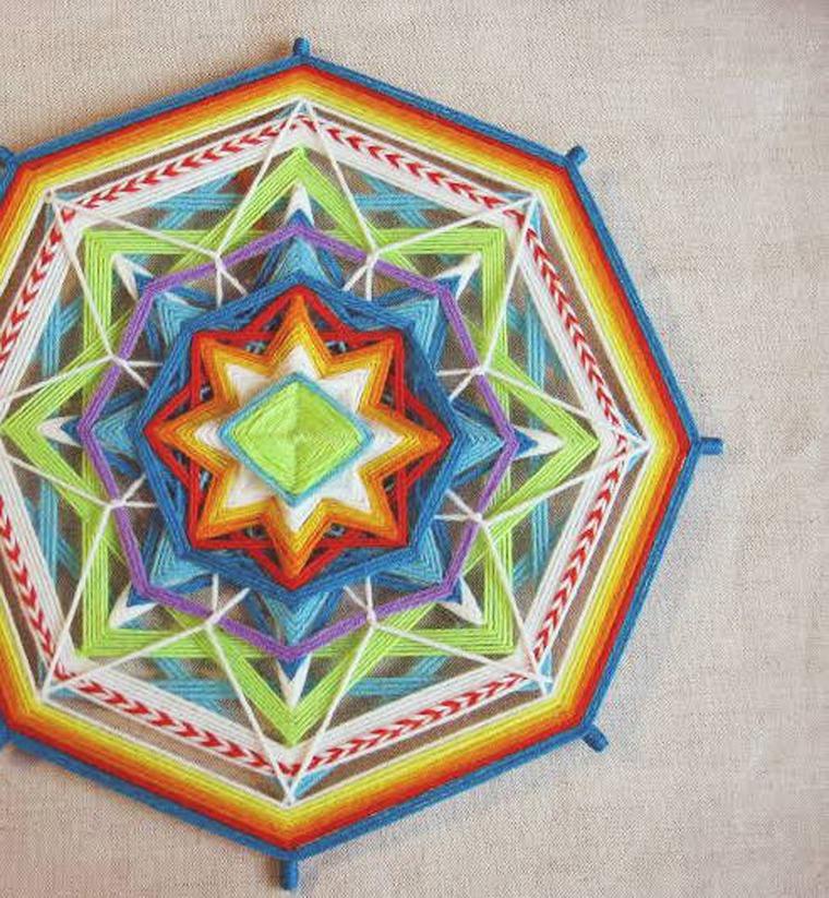 Мастер-класс Плетение индейских мандал - Ярмарка Мастеров - ручная работа, handmade