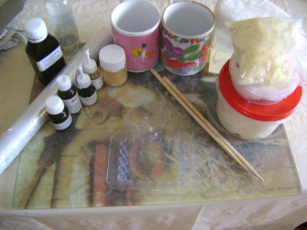 мастер-класс мыло