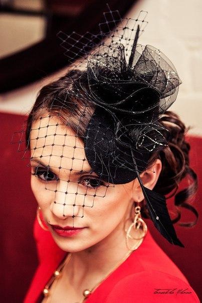 шляпка, модный показ