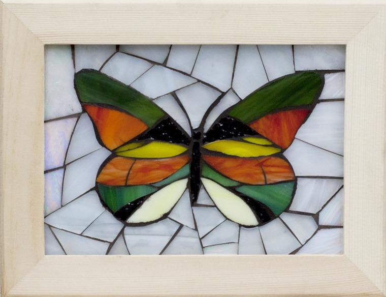 Мастер класс мозаика из стекла своими руками 42