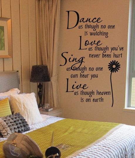 Мысли на виду! (или 60 идей декора стен с помощью слов, букв и цифр), фото № 12