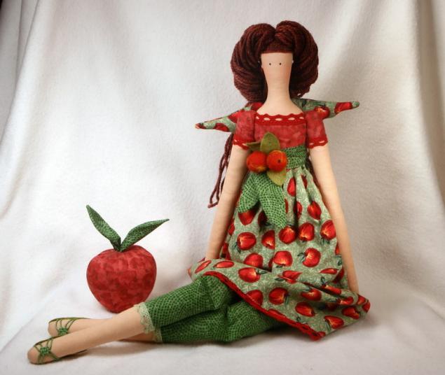 розыгрыш, тильда, яблочный ангел