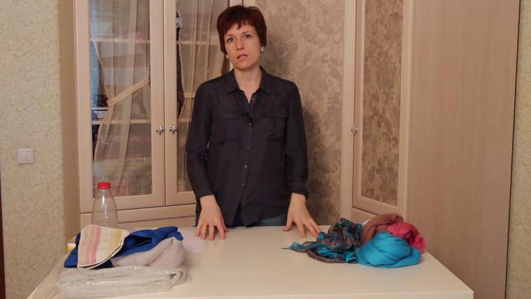 мастер-класс по валянию, шарфы на шёлке