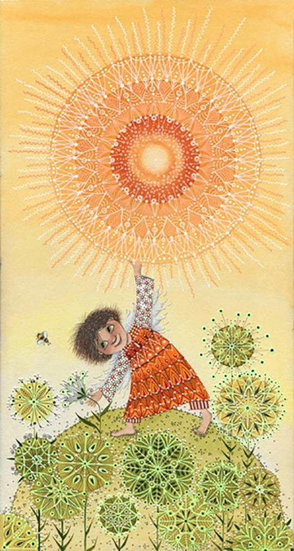 Там, где ангелы, там всегда свет. Картины Анны Черненко, фото № 8