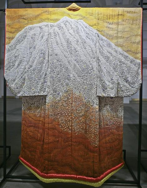 кимоно, шелк, японское искусство
