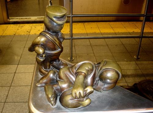 уличные скульптуры