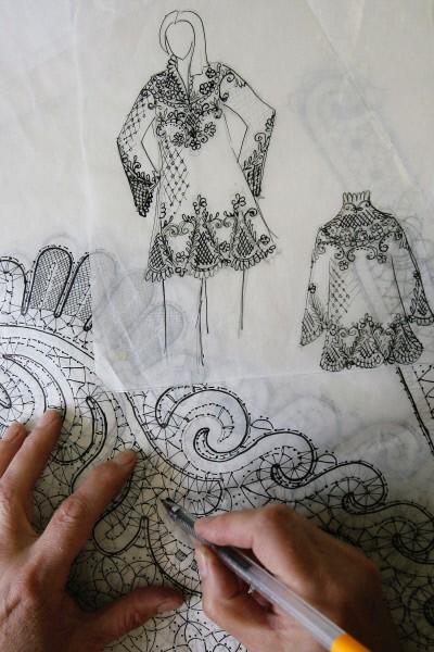 Как нарисовать кружева