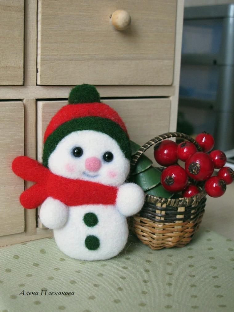 конфетка, розыгрыш конфетки, розыгрыш подарка, снеговик, брошь