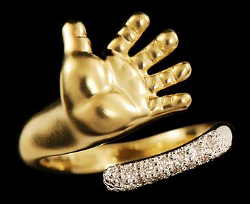 золотые украшения, кольцо