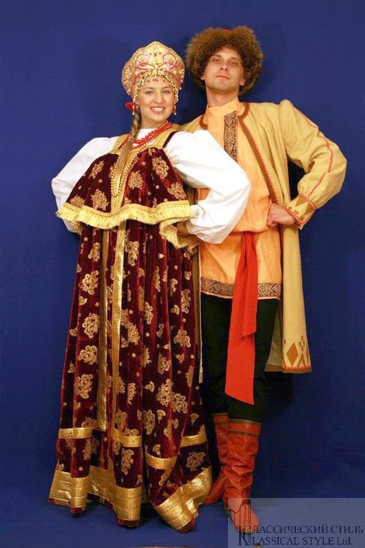 Русский национальный костюм фото мужской и женский