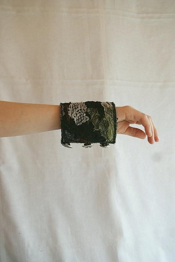 манжеты из ткани
