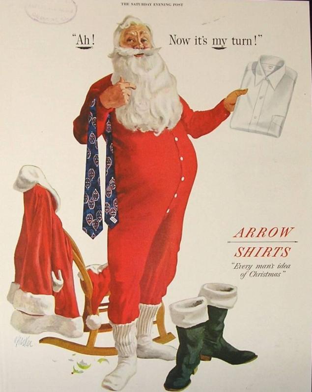 Новогодняя реклама Vintage/1951 -1956 включительно, фото № 18