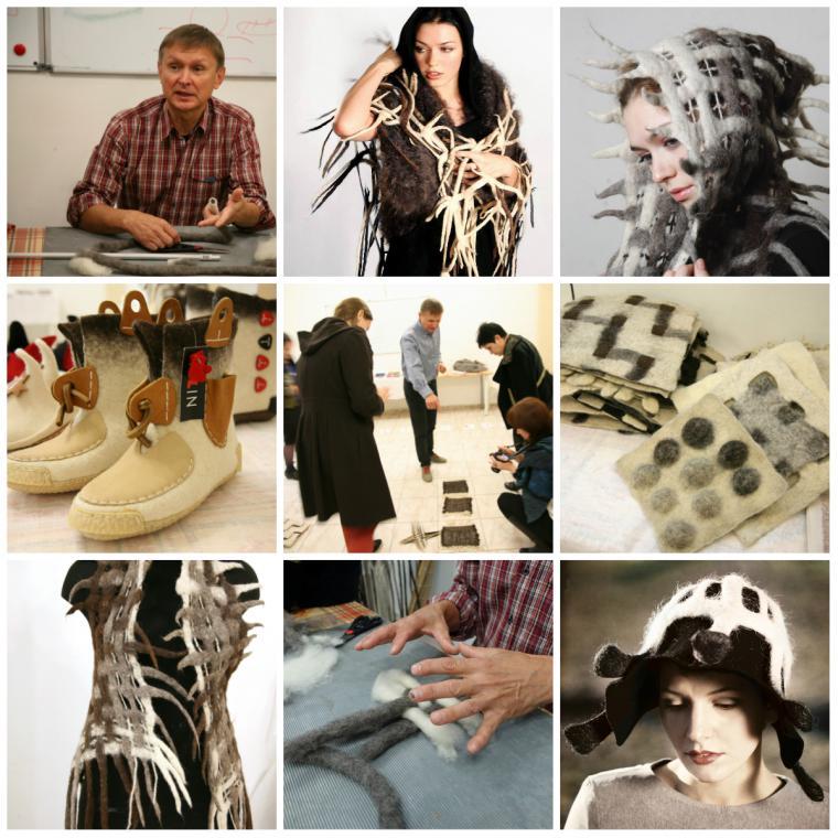 мастер-класс по валянию, обучение, текстиль, мк в москве, александр пилин