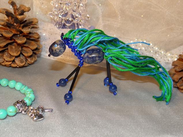 синяя лошадка, талисман года