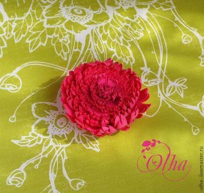 конфеты, призы украшения, цветы из фома, брошь ручной работы