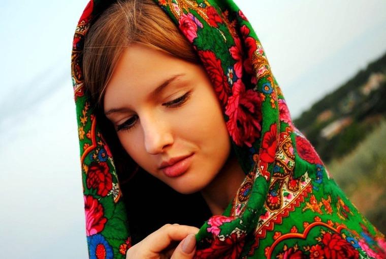 «В платочке ситцевом своем...»