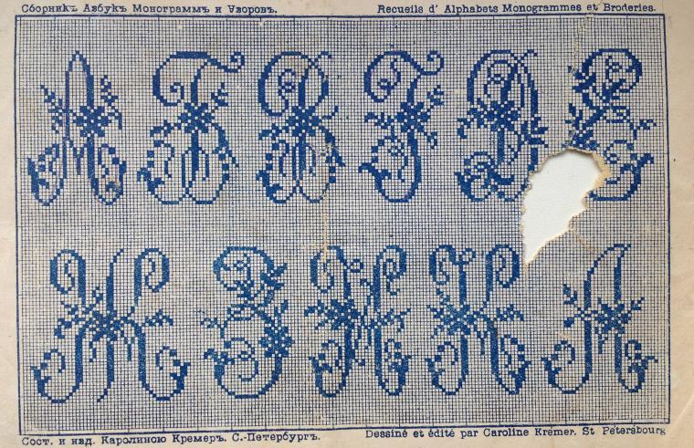 Инициалы схемы вышивка крестом