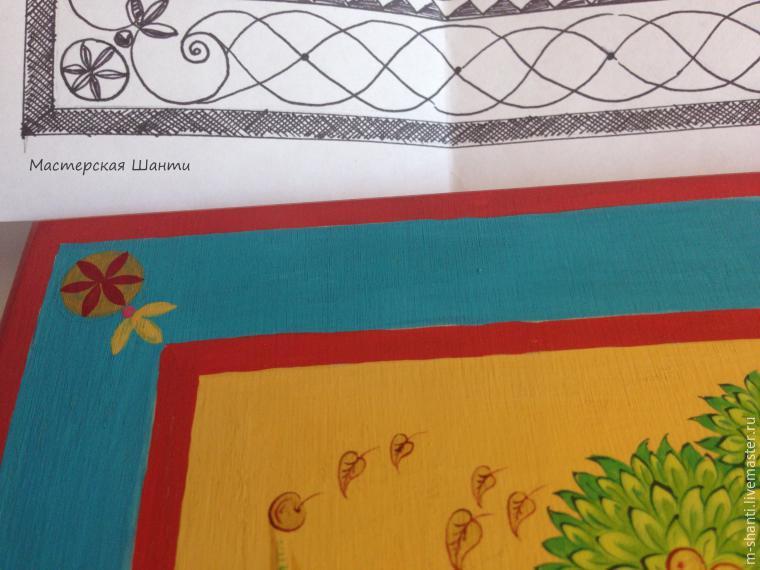 Расписываем яркую шкатулку-развивайку для детей, фото № 24