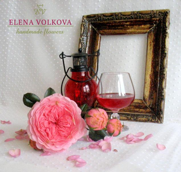 керамическая флористика, цветы ручной работы