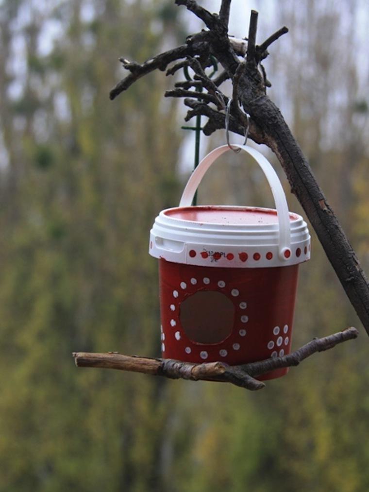 скворечники для птиц своими руками фото из подручных средств зимовки холодной