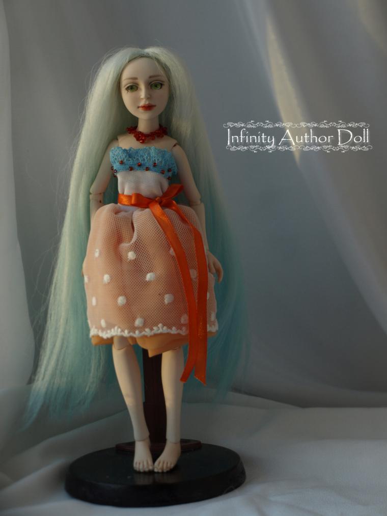 Красивая кукла сделанная своими руками 796