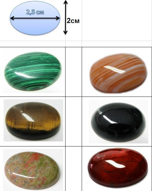 камни, кабошоны, натуральные камни, кабошоны оптом