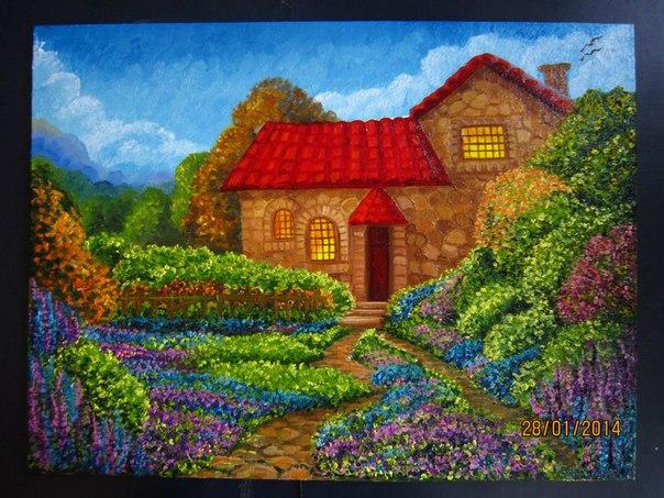 пейзаж, пейзажи, картина, картины, картина в подарок, картина для интерьера, картина в детскую, бартер