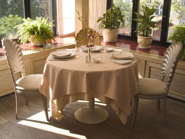 Скатерть на круглый стол фото