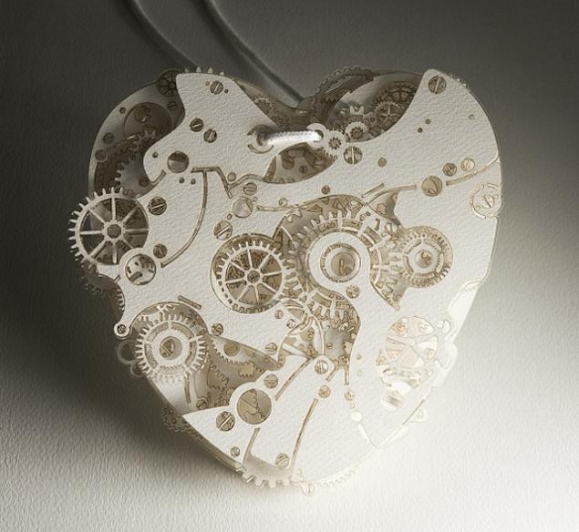 сердца-часы