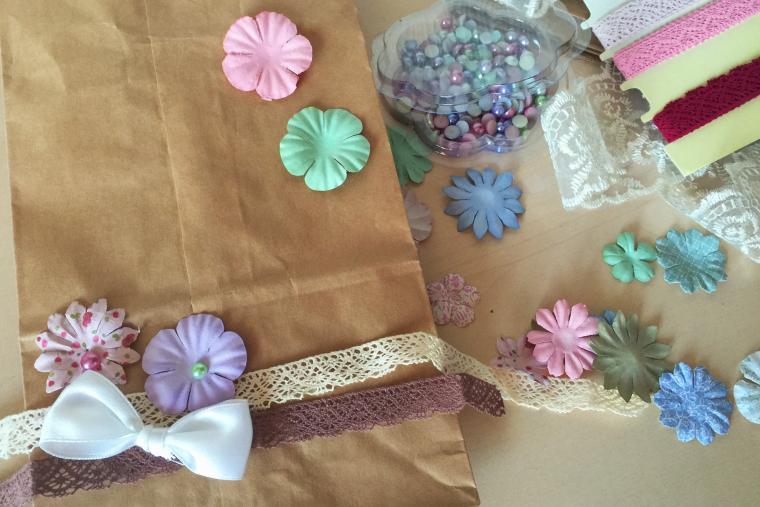 вязание, подарок, краски