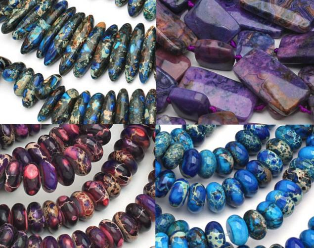 натуральные камни, замочки