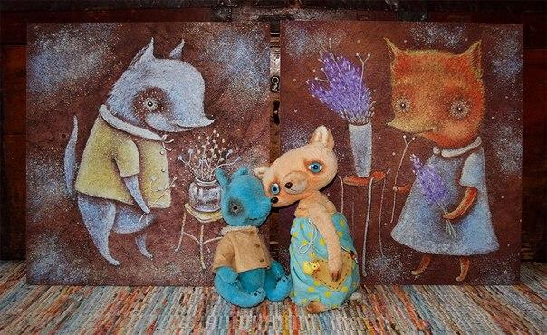 волчок, совпадения, сказка о волчке, картины для детской, детская комната